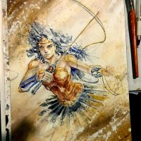 Wonder Woman by dreamflux1