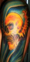 Deathbat Tattoo by MarcoGates