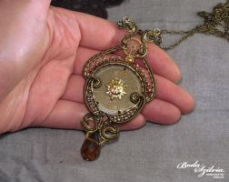 Victoriana Necklace by bodaszilvia