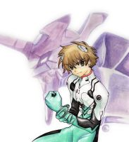 Syaoran in Eva World by Yumemi91