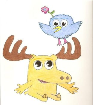 Nick jr's Moose and Zee by Julian-Marcus