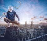 Jack Frost in the City by Crimson-Shad