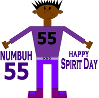 NUMBUH 55 ON SPIRIT DAY by Flame-dragon