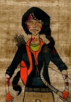 Katniss Everdeen by BlueEcoFreak