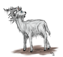 The Elder Stag by LadyVentuswill