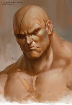 Muay Thai King (Sagat) by r-chie