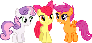 Cutie Mark Crusaders by RockinT765