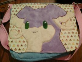 Custom shiny Audino shoulder bag by angelberries