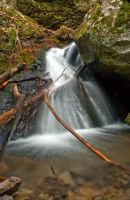 Linkin' Log Runoff by Ken-Jones-Imagery