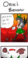 Orin's Birthday by miwol