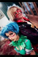 Wazzup, guys - Tira and Raphael by Narga-Lifestream