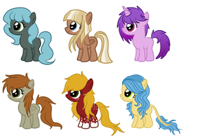 Foals Adopt 7 by CookieDreamAdopts