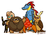 NCHG-- Current Team! by pettyartist