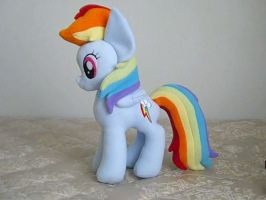 Rainbow Dash Plushie by DisneyKitten96