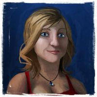 Speedpaint selfportrait by obeythekiwi