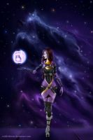 ME: Tali'Zorah by IzoldeDeith