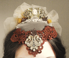 Front view: Hat by VictorianRedRose