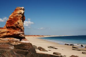 Cape Leveque sentinel by wildplaces