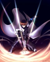 [Colored] Seto Kaiba in DSOD by Ycajal