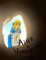 Alice in Wonderland :Cover: by dhiyamaghfira