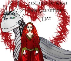 DH Two princessesValentine by Selinelle