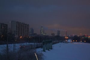 Moscow center 0555 by LinaAir