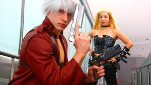 Dante and Trish Cosplay Sheetmetal by Ken-Eden