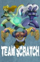 Team Scratch Commission by Zelmarr