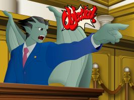 Phoenix Wright: Night Attorney by Whimsy-Floof