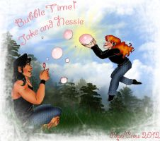 Bubble Time by Crowmamma