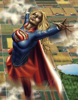 Supergirl by Steelbred