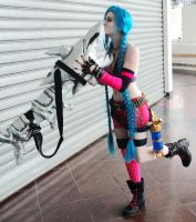 Jinx Cosplay by Screwy-Soul
