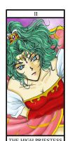 Priestess from FF Tarot Cards by cat-cat