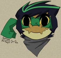 a Neopet in Wind Waker Style by Heedheed