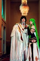 The Emperor and His Lady by diamondcrevasse