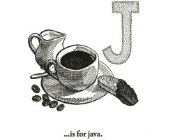 J is for Java by scheherazade
