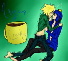 A Nice Cup Of Creek by VampireOfSadness