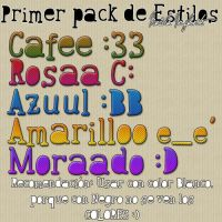 Pack de Estilos .1 by BieberDream