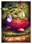 Totoro by ValentiArt