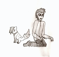 puppy and masky by the-edude