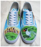 On the Downs - Watership Down Shoes by dai-yu