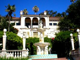 hearst castle--- fountain. by kitty1613