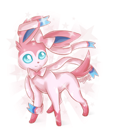 Sylveon / Ninfia by WolfLinx