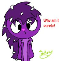 Lol purple Flaky by lacheetara
