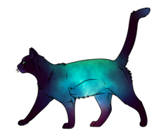 Galaxy Cat Adoptable [CLOSED] by FaggotAdopts
