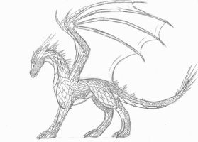 Raxtus Sketch by PrinceofSpirits