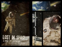 Lost In Space - Quadryptich by misfitmalice