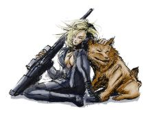 Sniper Wolf by visualinfinity