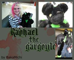Raph the Gargoyle Plush by BakaMichi