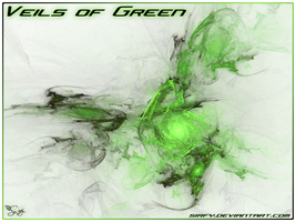 Veils of Green by Sirfy